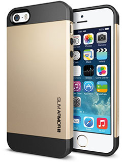 Spigen iPhone 5/5sケース スリム・アーマーS