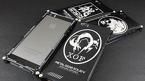 METAL GEAR SOLID V : GROUND ZEROS × ギルドデザイン コラボレーションiPhone 5/5sケース