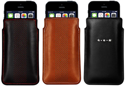 Ayano Infinity Pouch iPhone 5c/5s/5 DotsとAyano Mystique Pouch iPhone 5c/5s/5 Les Etoiles
