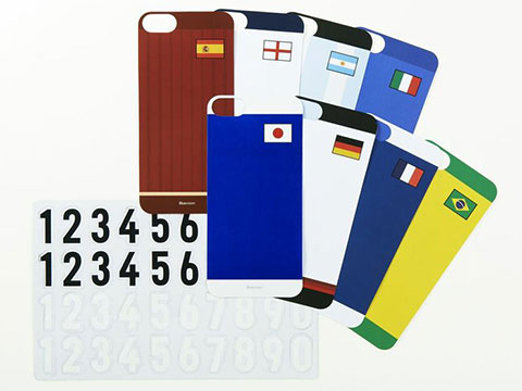Bluevision Composite for iPhone 5s/5 World Cup Edition