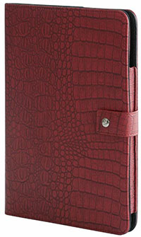 Bluevision Croco Folio Case for iPad Air