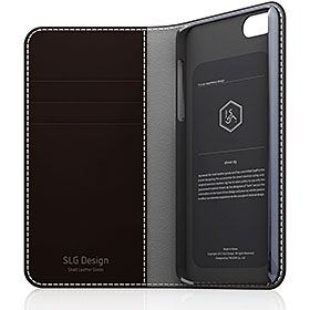 SLG Design D5 Edition Calf Skin Leather Diary iPhone 5/5s