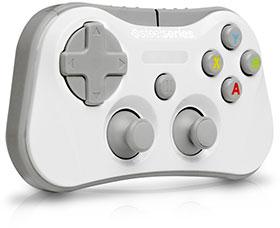 SteelSeries Stratus ワイヤレス ゲームコントローラー ホワイト