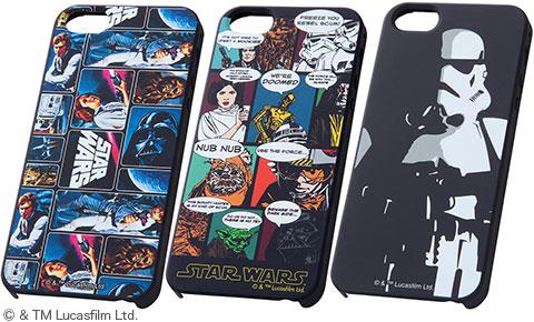 Apple iPhone 5 / iPhone 5s用スターウォーズ・シェルジャケット RT-SWP5SAシリーズ