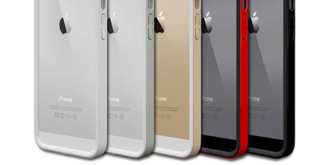 Colorant B1S Ultraslim Bumper - Full Protection for iPhone 5/5s