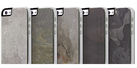 PATCHWORKS Classique Snap Case - Stone Slate for iPhone 5/5s