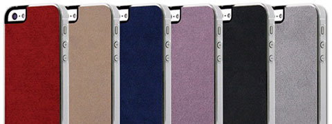PATCHWORKS Classique Snap Case - Ultra Suede for iPhone 5/5s