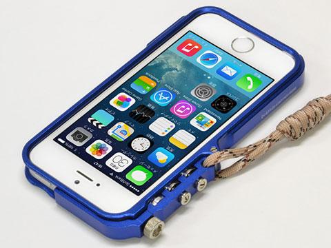 iPhone5/5s 用 ワイルド アルミバンパー