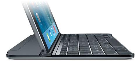 Logicool Ultrathin Magnetic Clip-on Keyboard Cover for iPad Air/mini