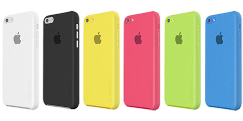 Colorant Color Shell Case for iPhone 5c