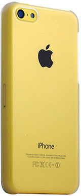 Colorant C0 Clear Snap Case for iPhone 5c