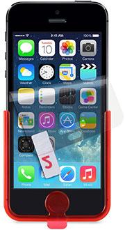 Tech21 アンチグレア Impact Shield スクリーンプロテクター for iPhone 5s/5c