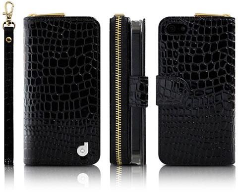 dreamplus iPhone 5/5s New Zipper お財布付きダイアリーケース
