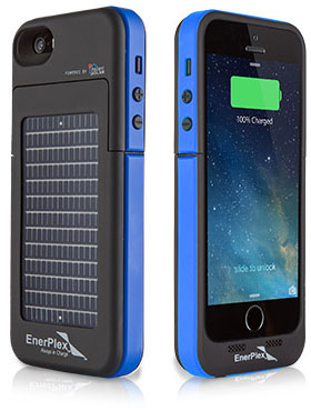 Enerplex Surfr Emergency Battery and Solar Case iPhone 5/5s