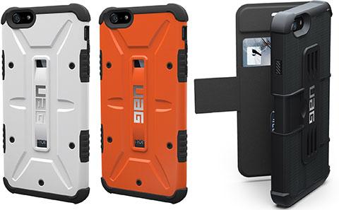 URBAN ARMOR GEAR(UAG)iPhone 6/6 Plus用コンポジットケース/フォリオケース