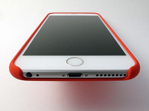 アップル純正iPhone 6シリコンケース・iPhone 6 Plusシリコンケース