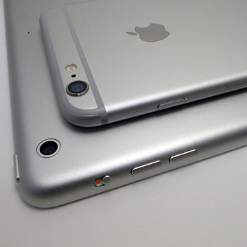 iPhone 6 PlusとiPad Air