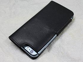 ミツゼ・クラフトiPhone 6/6 Plus用手帳型レザーケース