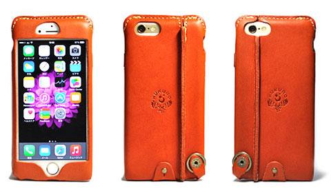 JACA JACA iPhone 6用 オイルレザーケース