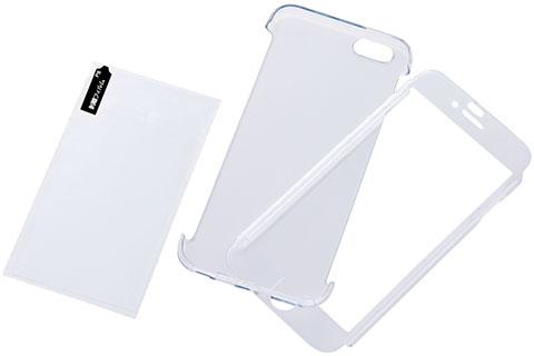 iPhone 6 Plus用ハードコーティングシェル・プレミアムセット(RT-P8TG3)