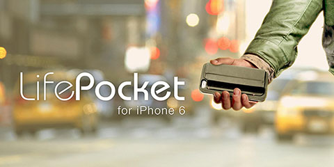 SwitchEasy LifePocket for iPhone 6