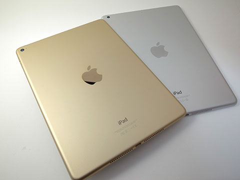 iPad Air 2と第1世代iPad Air