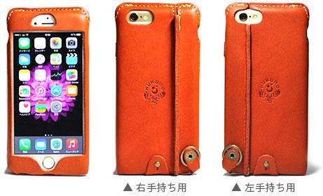 JACA JACA iPhone 6 Plus用 オイルレザーケース
