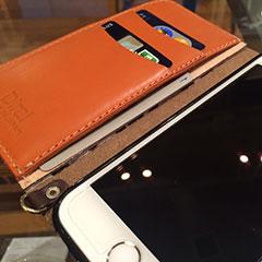 Diral iPhone 6用手帳型レザーケース