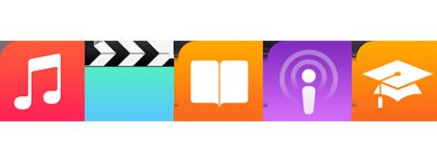 iOSのメディア再生ソフト