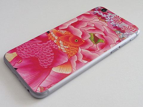iDentity iPhone 6用背面スキンシールカバー