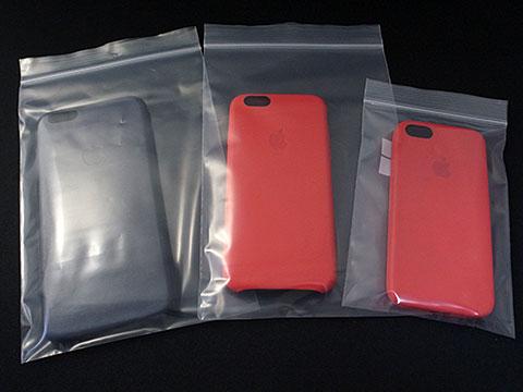 iPhoneケースの整理袋