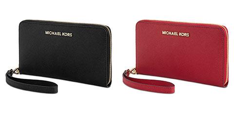 MICHAEL Michael Kors Large Zip Wallet