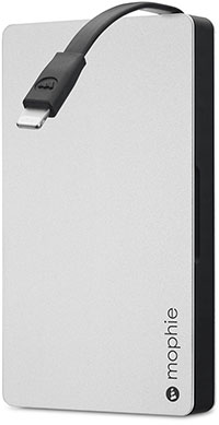 mophie powerstation plus 2x/3x battery with Lightning connector