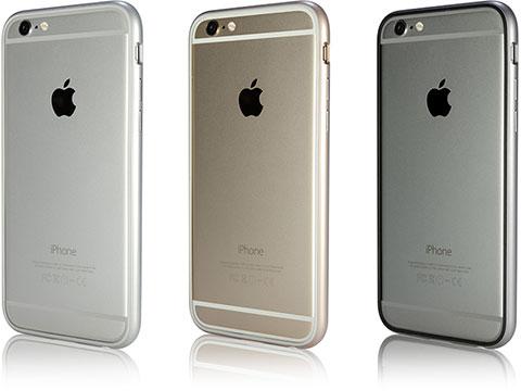 パワーサポート Arc bumper set for iPhone 6