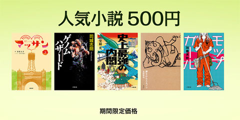 iBooks Store 人気小説 500円