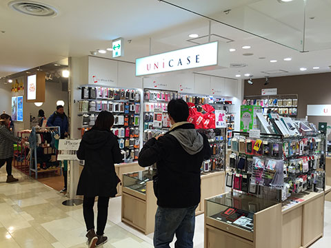 UNiCASE 札幌PARCO 初売り