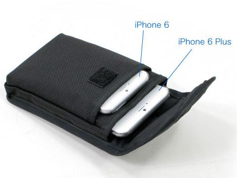 Carryingcase.net スマートフォン ダブルポケットケース