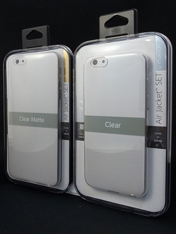 パワーサポート エアージャケットセット for iPhone 6/iPhone 6 Plus パッケージ