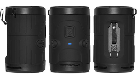 Scosche boomBOTTLE H2O 防水防塵ワイヤレススピーカー