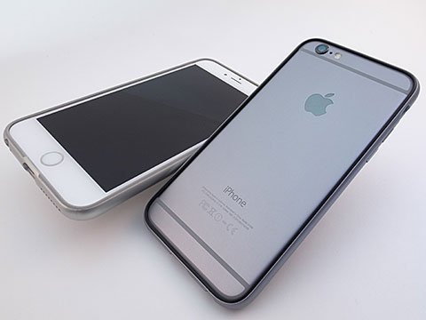 パワーサポート Arc bumper set for iPhone 6/6 Plus