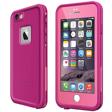 LifeProof frē for iPhone 6 Power Pink