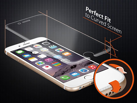 Spigen iPhone 6 シュタインハイル・カーブド・クリスタル
