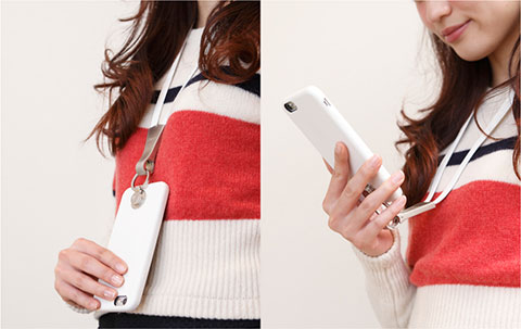 Deff Multi Function Design Caes & Neck Strap for iPhone 6