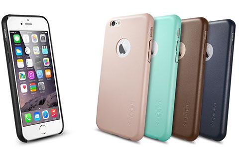 Spigen iPhone 6 Case Leather Fit