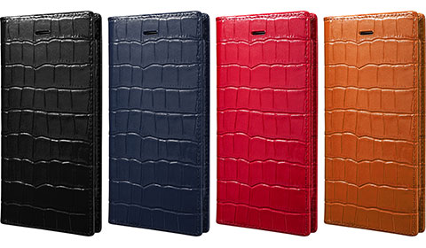 GRAMAS Crocodile Patterned Full Leather Case LC815 for iPhone 6/LC825P for iPhone 6 Plus