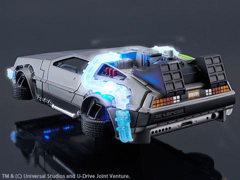 CRAZY CASE BACK TO THE FUTURE II DELOREAN TIME MACHINE