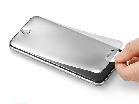 Spigen iPhone 6 Plus 5.5 カーブド・クリスタル 全面液晶保護フィルム