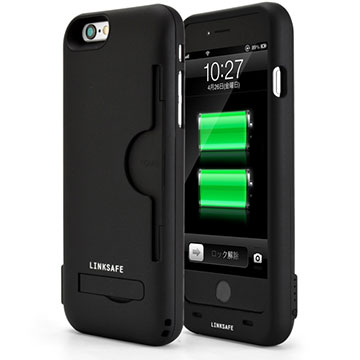Power case with card slot for iPhone 6