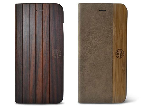 REVEAL Nara Wooden/Nature Fusion Folio case for iPhone 6