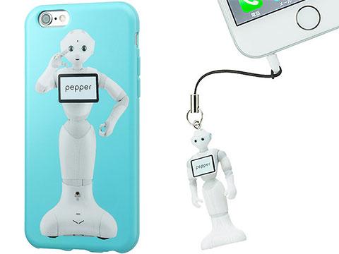 PepperデザインのiPhoneアクセサリ